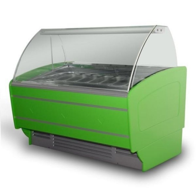 K-1 SR 12 SORBETTI - Ice cream counter for 12 flavours