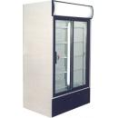 USS 1100 DSC Sliding glass door cooler with display