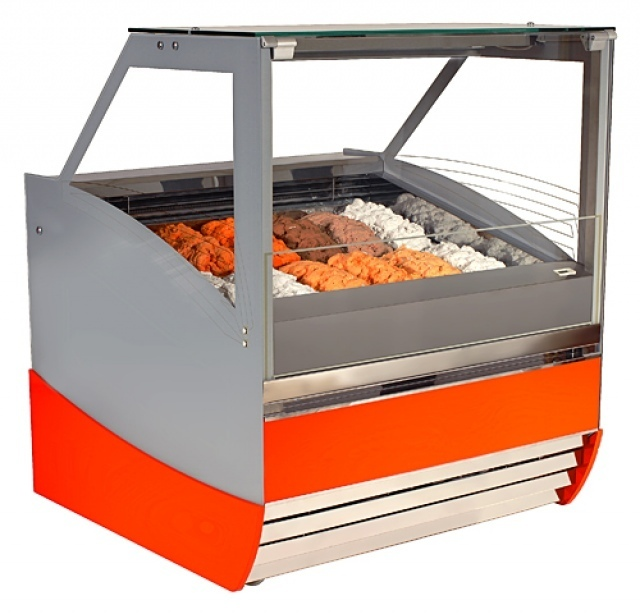 K-1 MGI 18 - Ice cream counter for 18 flavours