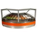 Vitrină frigorifică de colţ pentru îngheţată | K-1 MGI 17/NZ 90° MAGNUM ICE