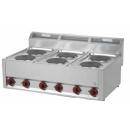 SP-90 ELS Maşină de gătit electrică cu 6 plite