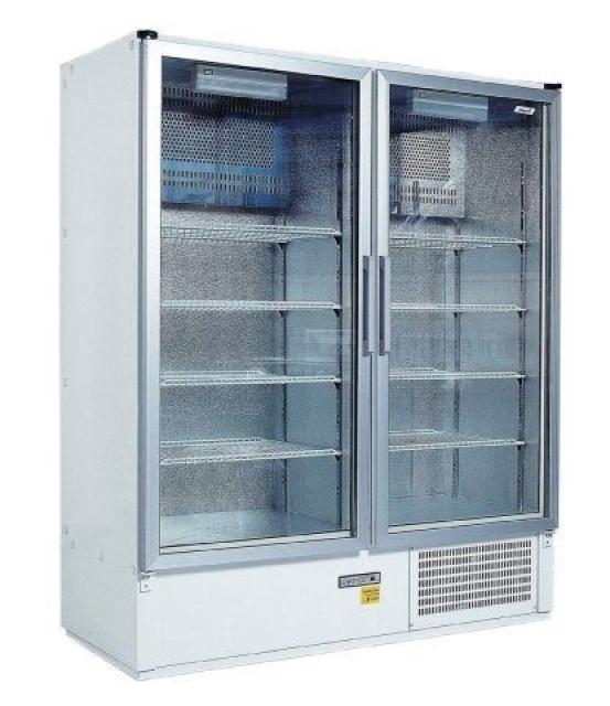 SCH 1400 S - Két üvegajtós hűtővitrin