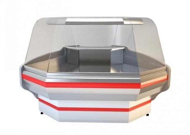 NCH GNN-Z 1.2/0.9 Curved glass external corner counter