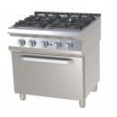 Maşină de gătit pe gaz cu 4 arzătoare | SPST 780/21 GE