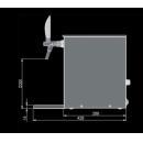 PYGMY 25/K Exclusive 1 tap - Száraz hűtésű, egykörös sörhűtő beépített légkompresszorral