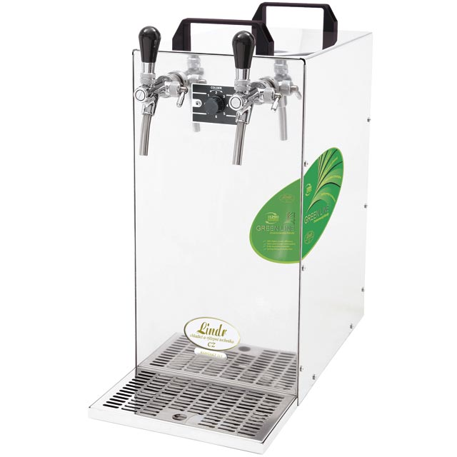 KONTAKT 155 (Green line) Dry contact double coiled beer cooler