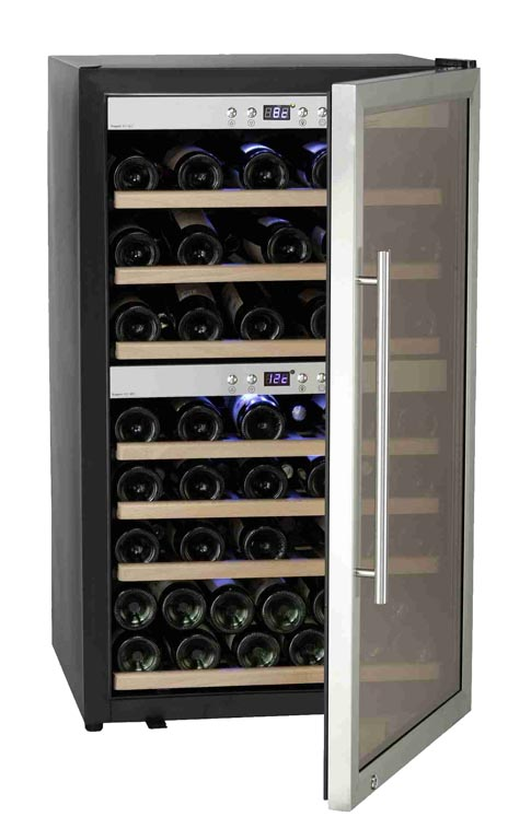 SW-66 Double sectioned wine cooler