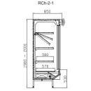 Raft frigorific cu uși glisante RCh-2-1 1,57 DAVOS