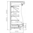 Wall cabinet RCh-1-1 -ORLANDO