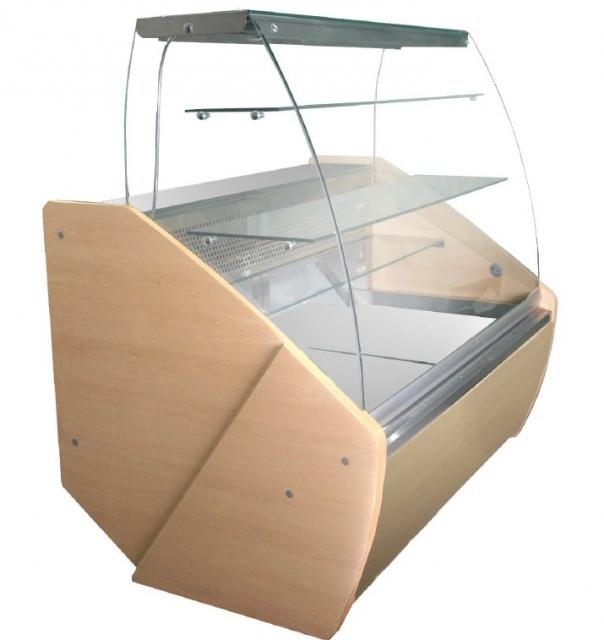 Vitrină frigorifică de cofetărie și patiserie WCHCRBG 1,0/0,9