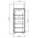 SMR 700 GN - Fagyasztószekrény