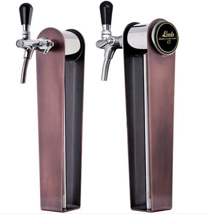 Tower Naked Bronze - Tower with 1 tap and bronz cover