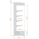 RCH Hercules 05 1,25 - Refrigerated wall cabinet