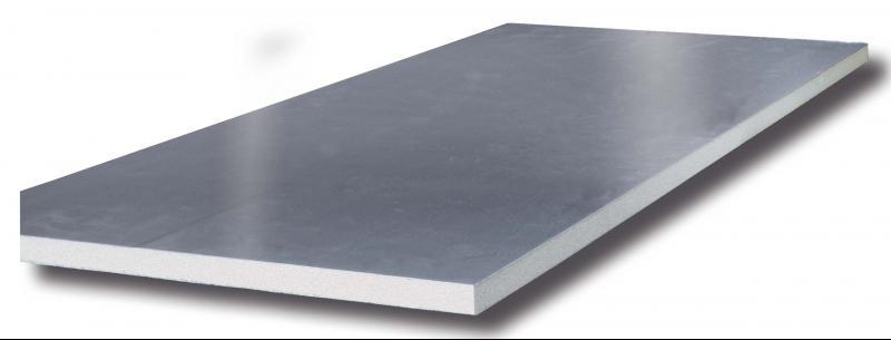 ANTIMIKROBIÁLIS panel 20 mm - sima 80 µm és mintás 80 µm, habsűrűség: 45 kg/m3
