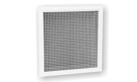 Fix négyzetbetétes rács