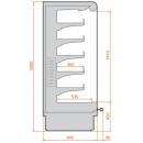 RCS Scorpion 04 1,25 - Hűtött faliregál
