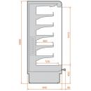 RCS Scorpion 04 1,25 - Refrigerated wall cabinet