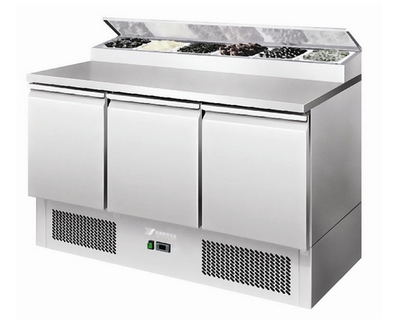 ESL3852+VRX1400 refrigerated work table