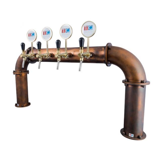 Coloană de bere pentru 4-10 robineți Brauhaus Bridge
