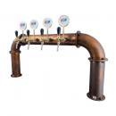 Coloană de bere pentru 4-10 robineți | Brauhaus Bridge