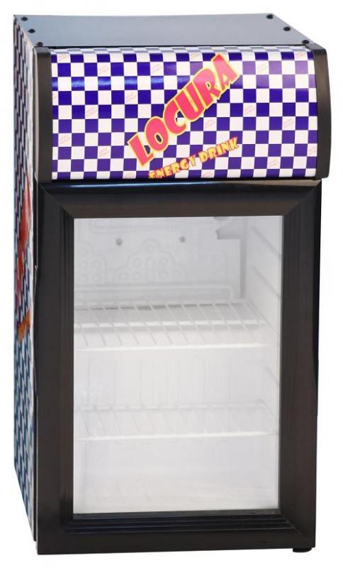 SC-20H - Üvegajtós hűtővitrin