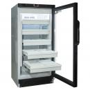 CS-220 P - Glass door cooler with drawers