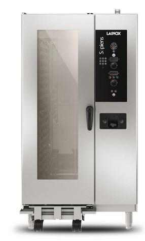 SAEV201R - Elektromos vagy gázüzemű direkt gőzbefúvásos kombi sütő 20x GN 1/1