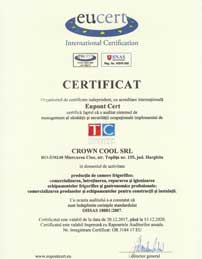 Certificate ISO-18001