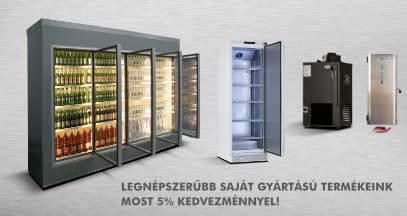 Legnépszerűbb saját gyártású hűtéstechnikai termékeink MOST 5%-os kedvezménnyel!